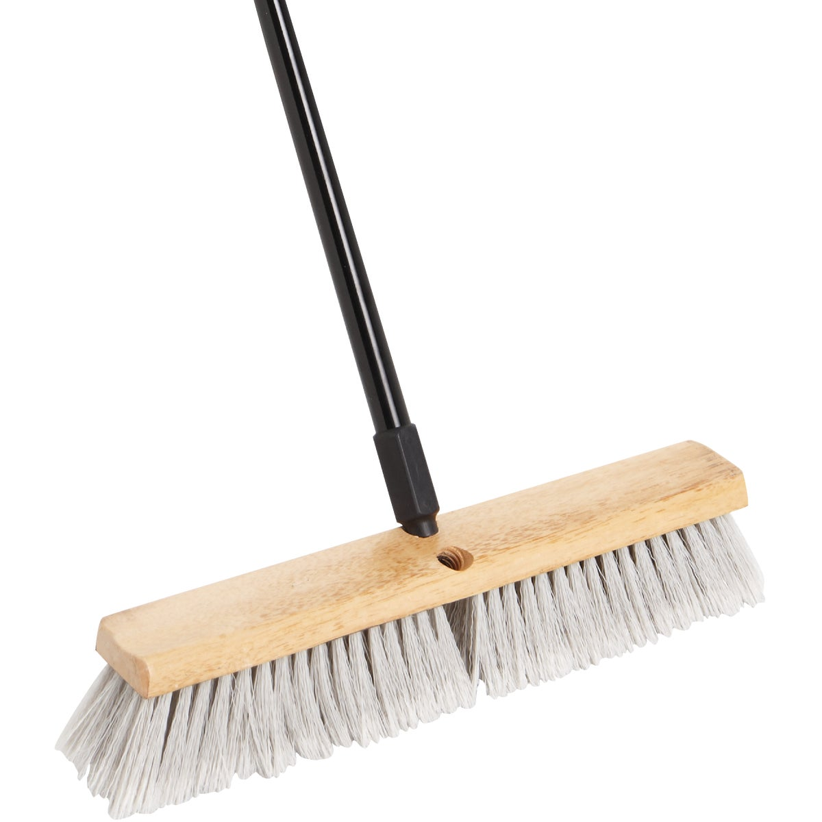 "18"" POLYSTY PUSH BROOM - DI89502 by D Q B Ind"
