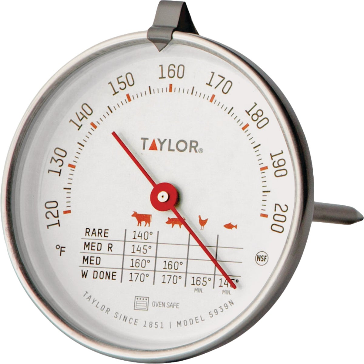 MEAT THERMOMETER - 5939N by Taylor Precision