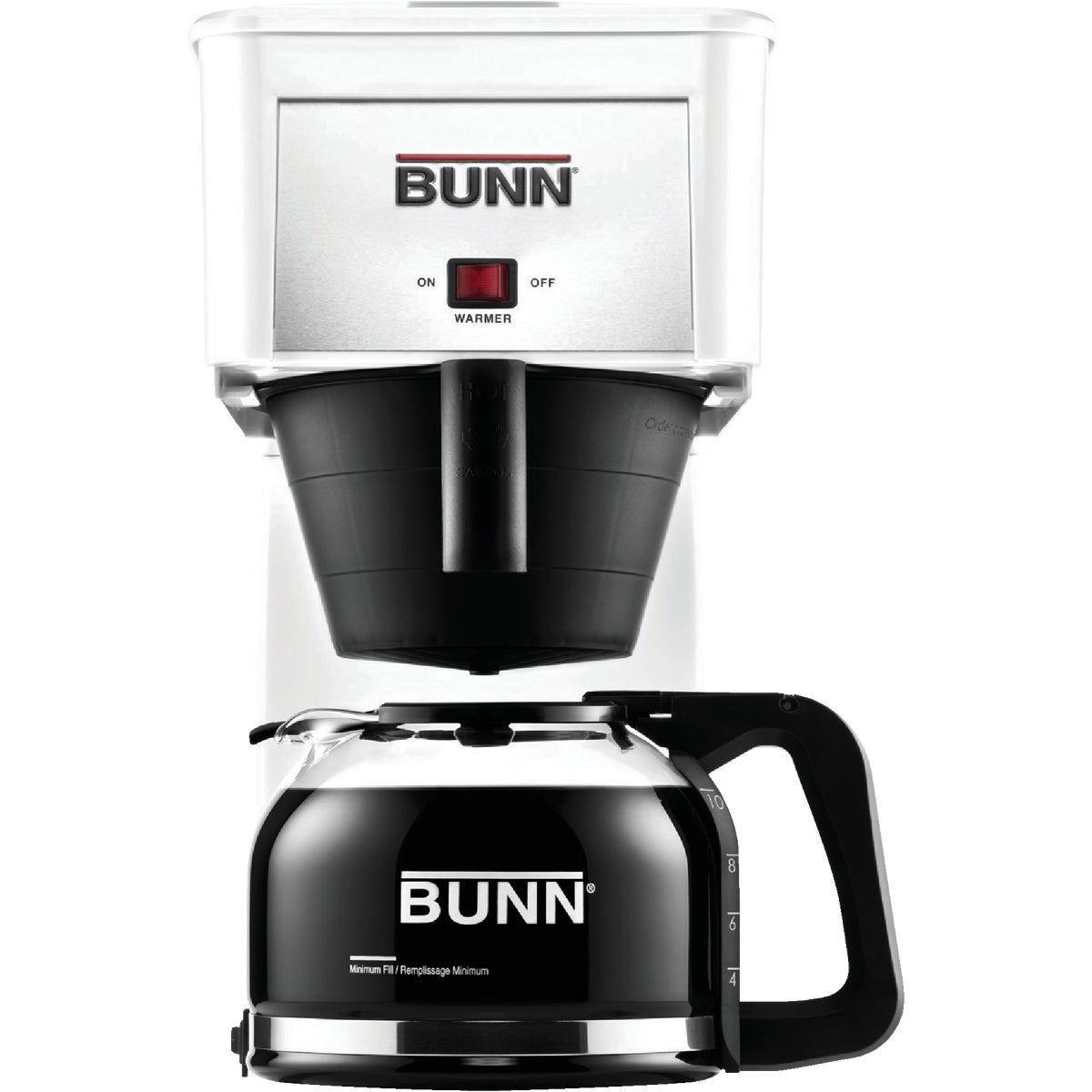WHITE COFFEE BREWER - 38300.0032 by Bunn O Matic