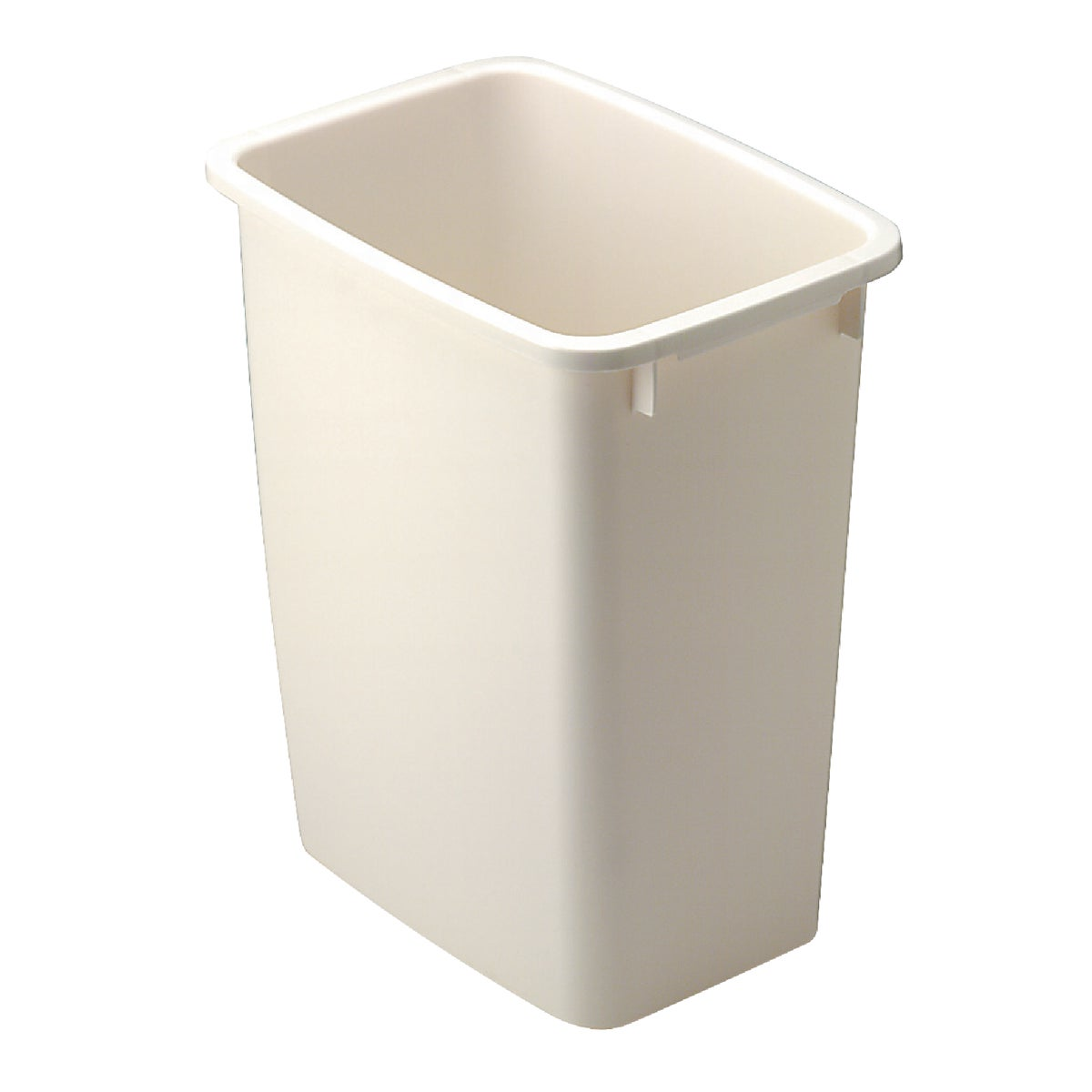 21QT BISQUE WASTEBASKET - 280500-BISQU by Rubbermaid Home