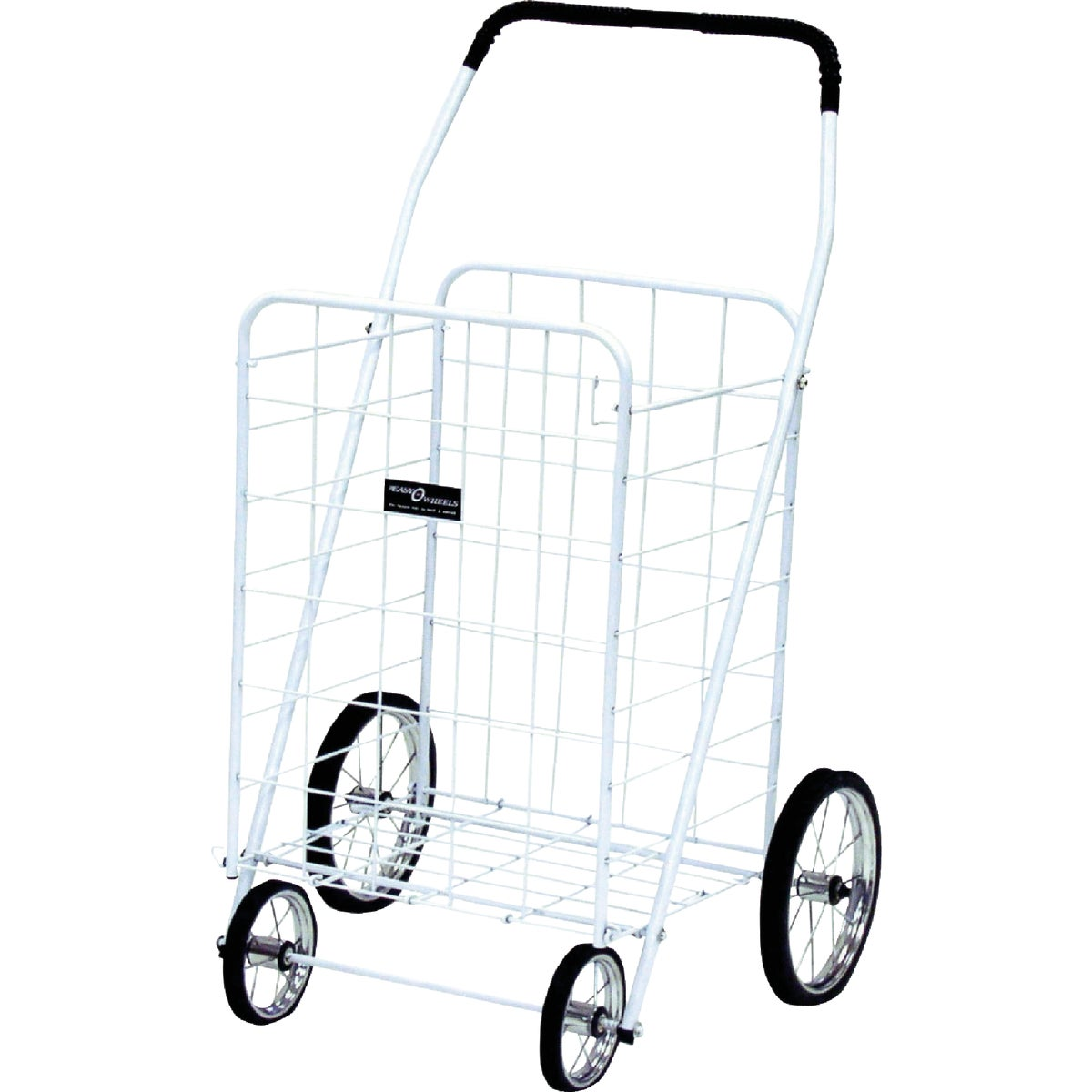 JUMBO WHT SHOPPING CART