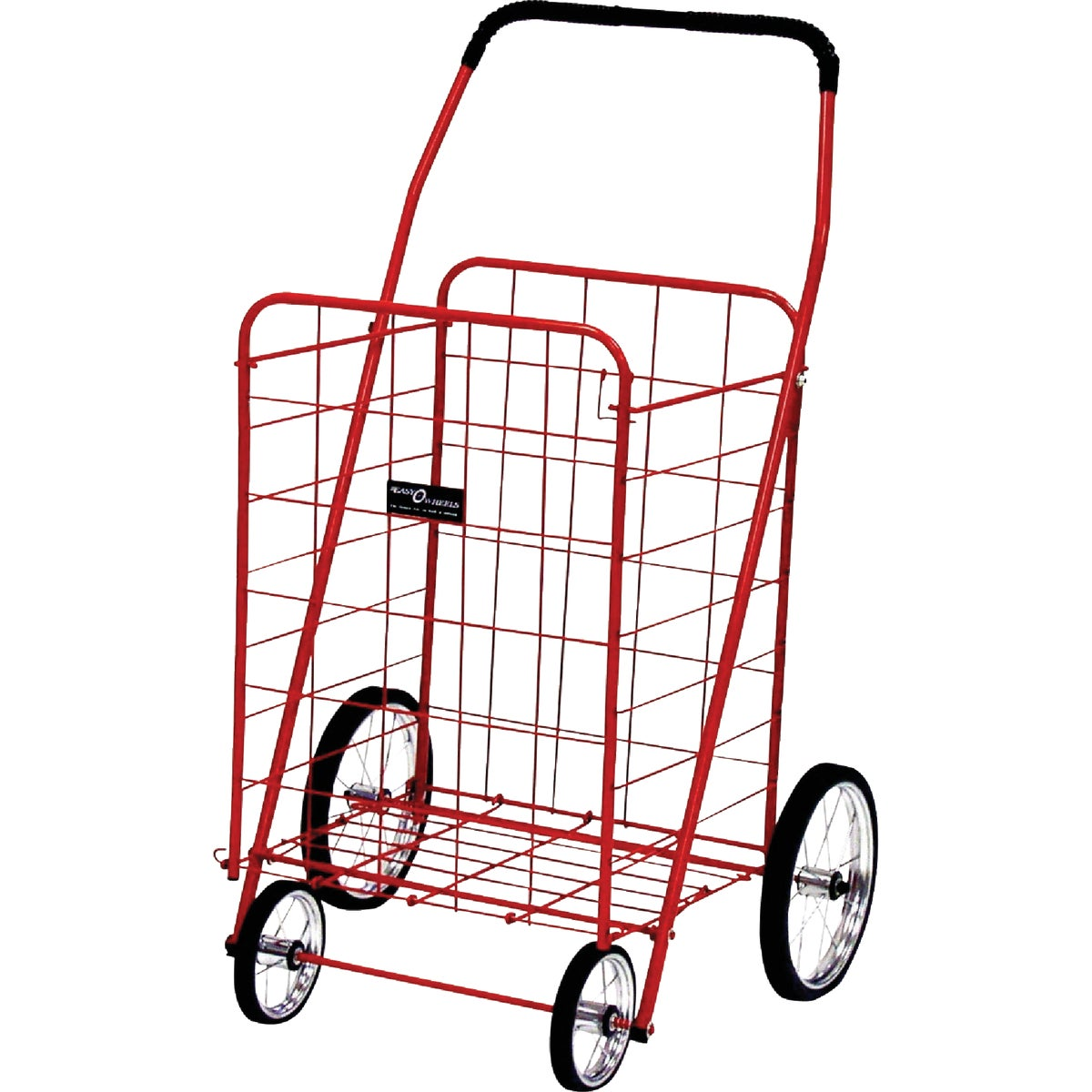 JUMBO RED SHOPPING CART