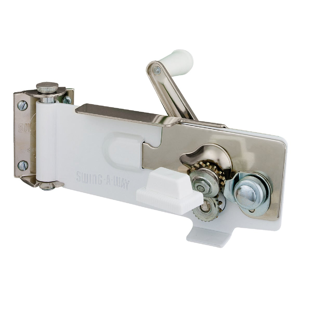 WHITE CAN OPENER - 609WH by Swing A Way Mfg Co