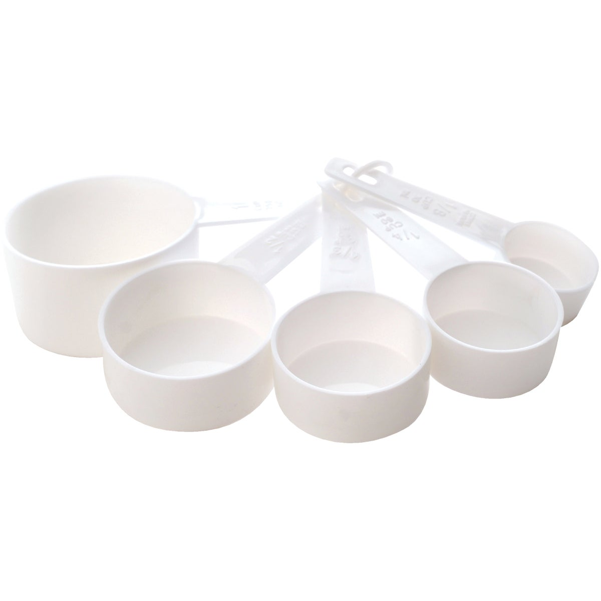 5PC WHITE MEASURING CUP - 3044W by Norpro
