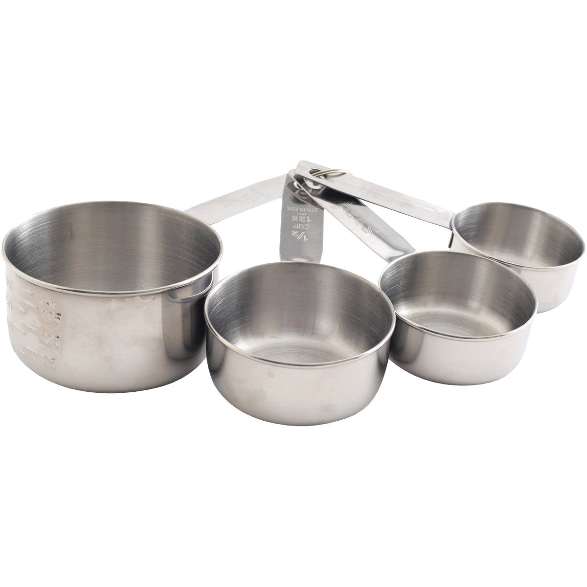 4PC SS MEASURING CUP