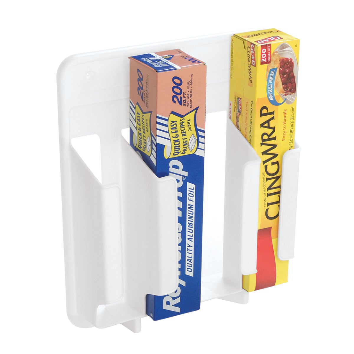 WHITE WRAP'N BAG HOLDER - 231000WHT by Rubbermaid Home