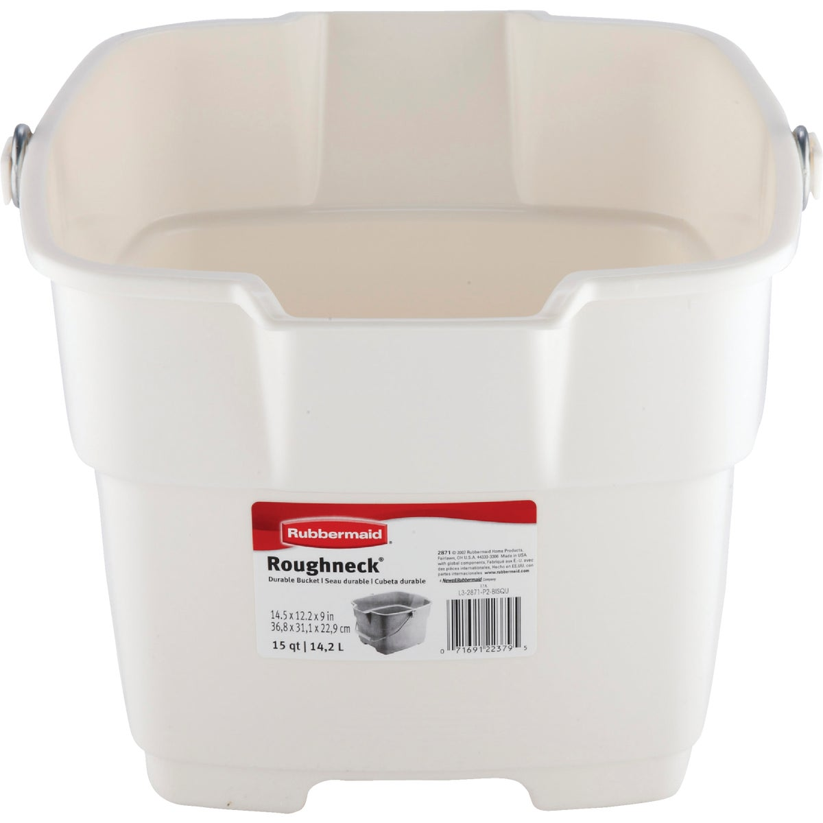 15QT BISQUE BUCKET - 287100BISQU by Rubbermaid Home