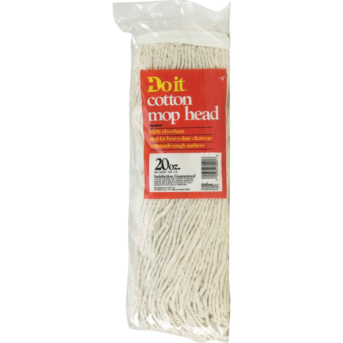 20OZ COTTON MOP - 642347 by Nexstep Commercial