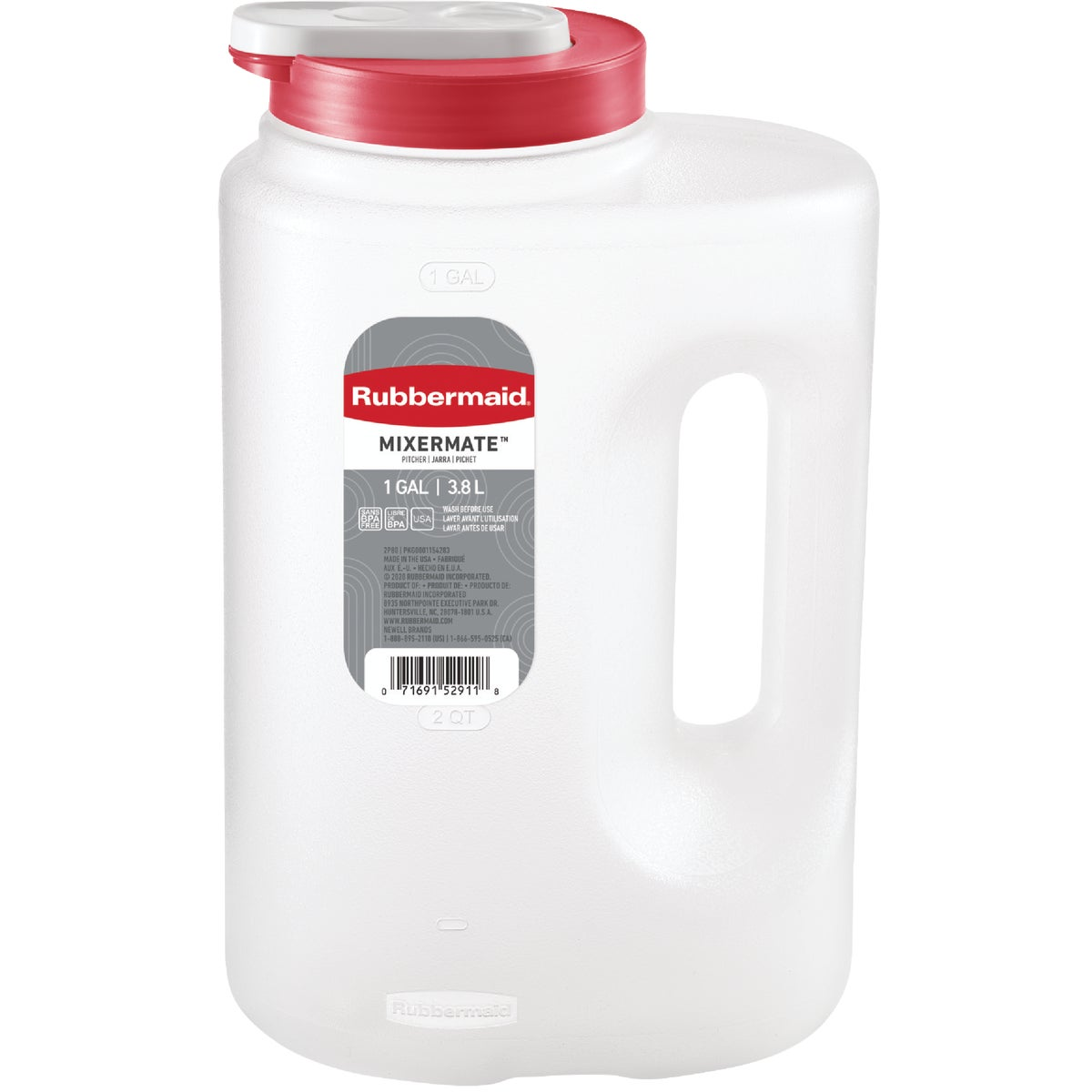 1GAL BEVERGE STRG BOTTLE - 1776502 by Rubbermaid Home