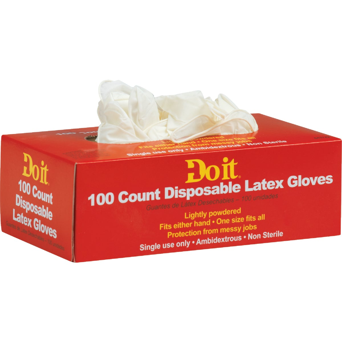 100CT LATEX GLOVE - 643742 by Do it Best
