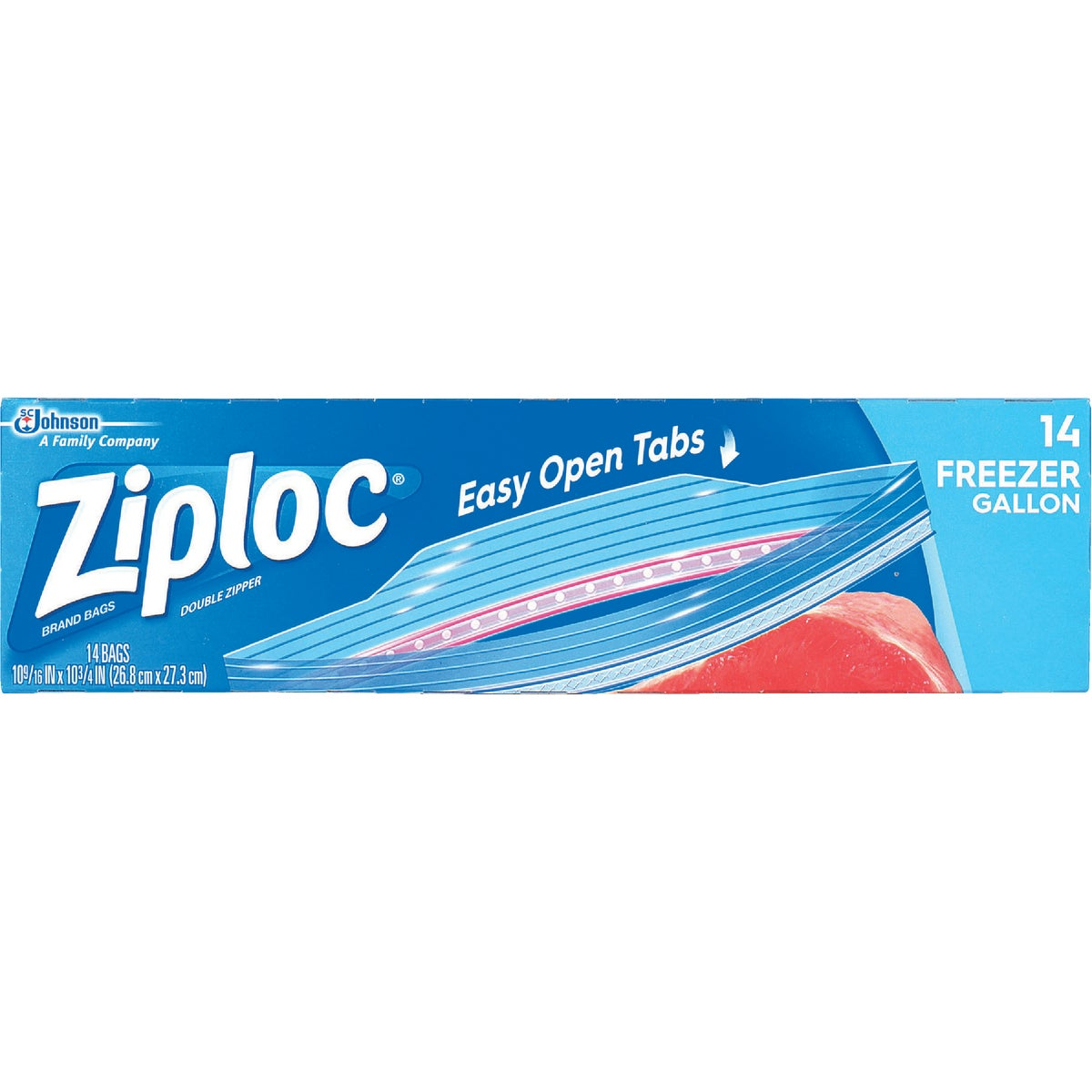 GAL ZIPLOC FREEZER BAG