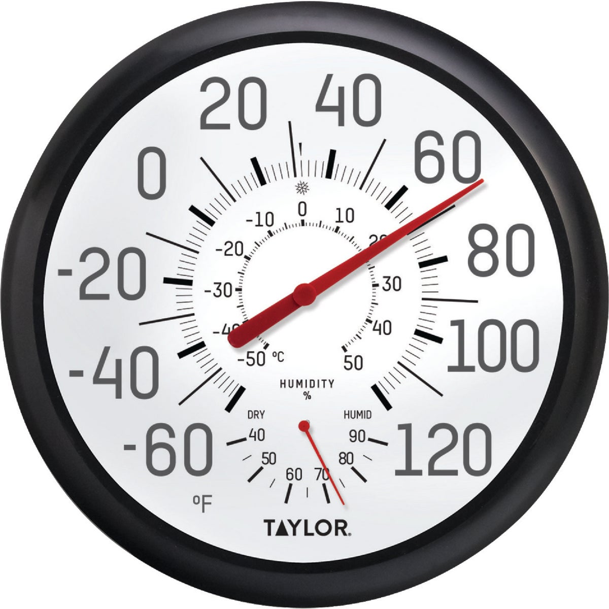 HUMIDTY DIAL THERMOMETER