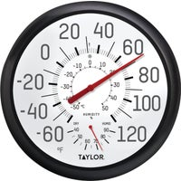 Taylor Precision HUMIDTY DIAL THERMOMETER 6712N