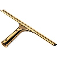 Ettore ProSeries Brass Window Squeegee, 10006