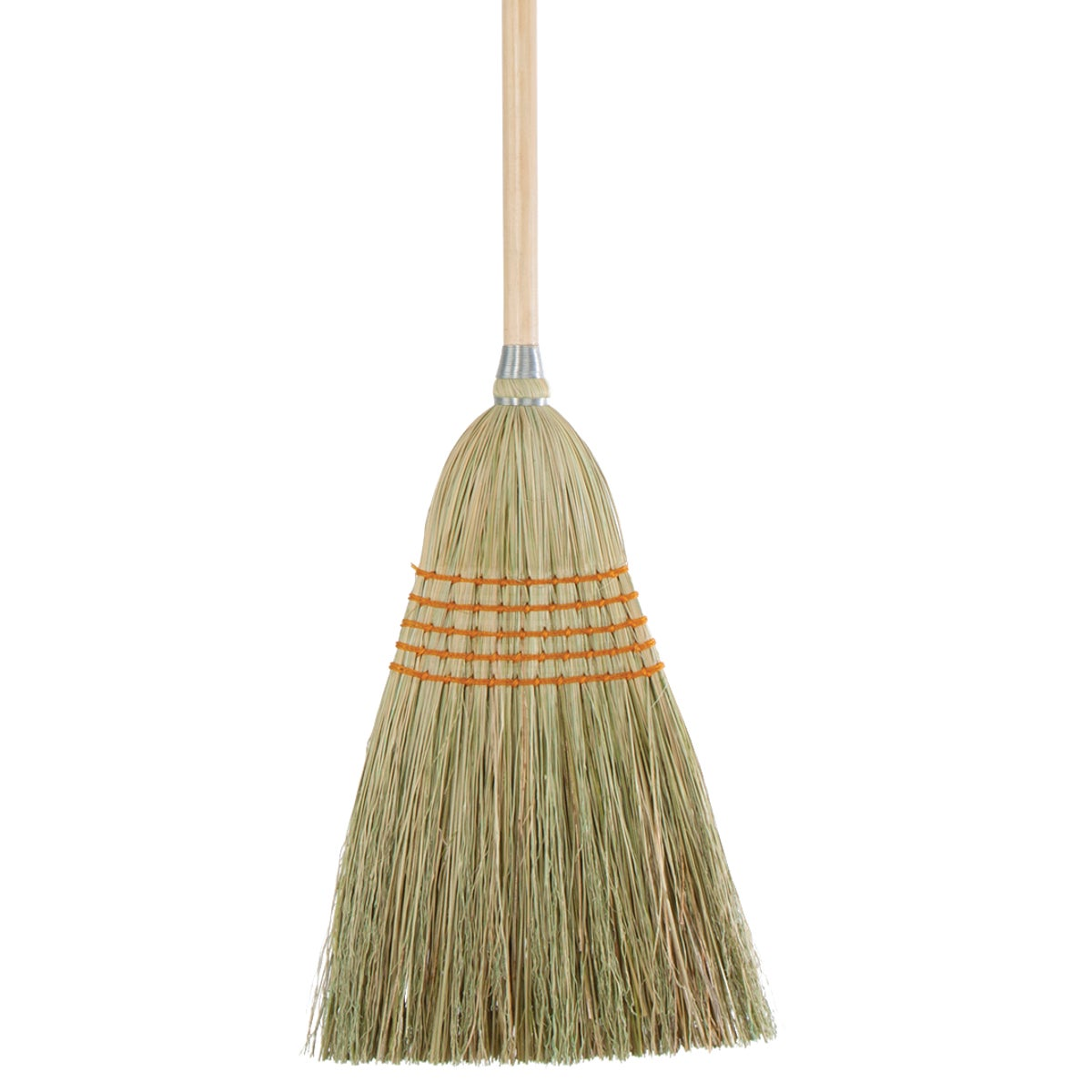 11.5 In. W. x 42 In. L. Natural Wood Handle Lightweight House Corn Broom