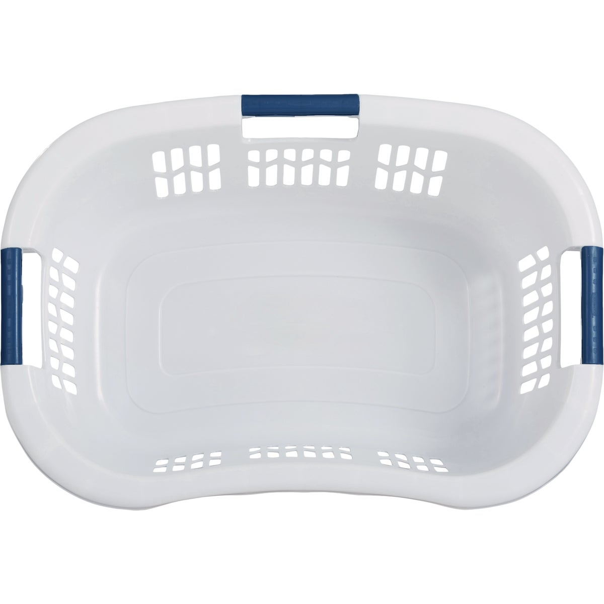 WHITE LAUNDRY BASKET - 299787-WHT by Rubbermaid Home