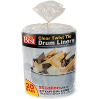 Berry Plastics 55GAL/20CT DRUM LINER 647896