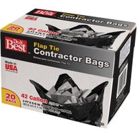 Berry Plastics 42GAL/20CT CONTRCTR BAGS 647926