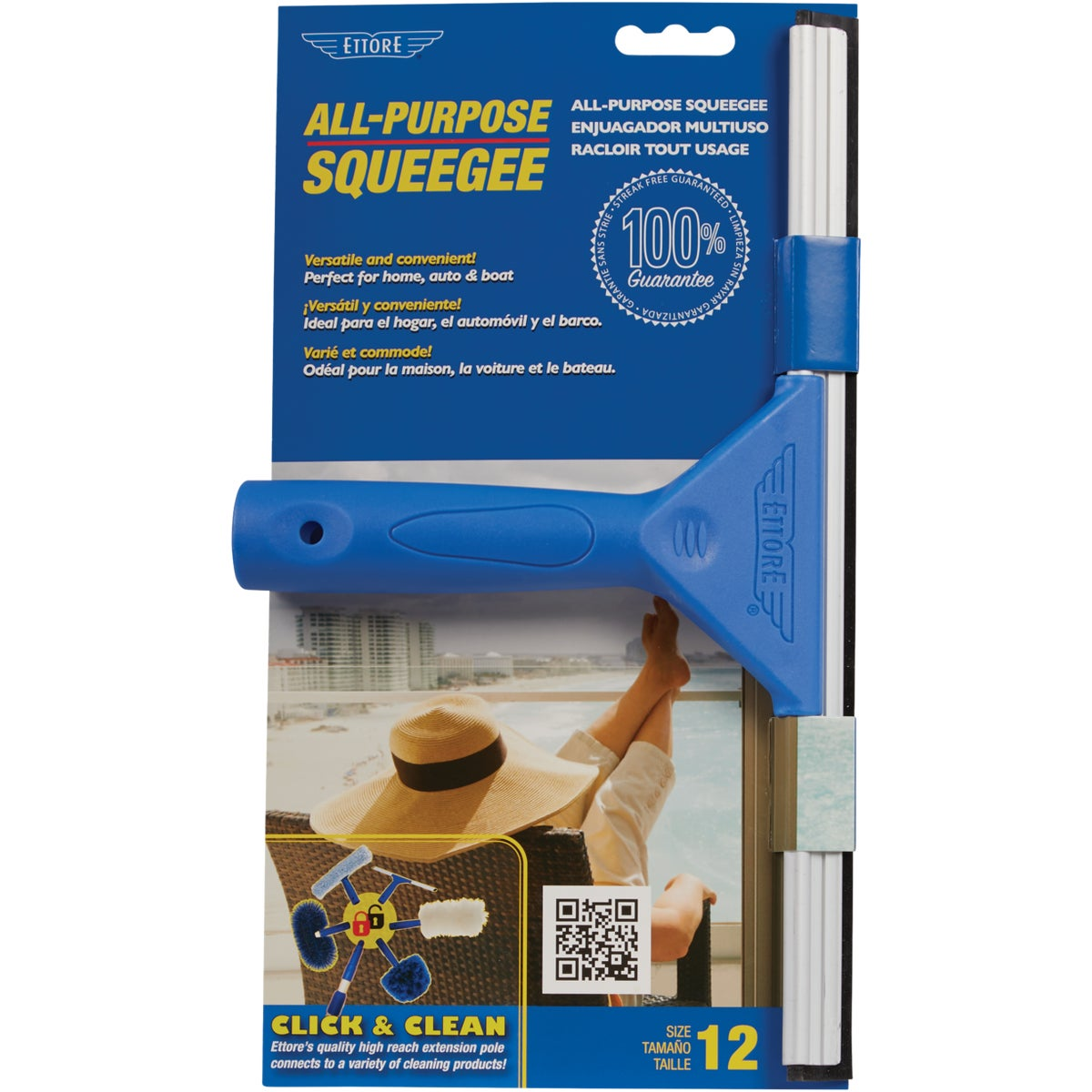 "12"" SQUEEGEE - 17012 by Ettore Products Co"