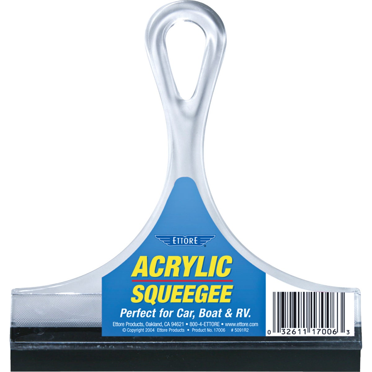 "6"" SQUEEGEE - 17006 by Ettore Products Co"