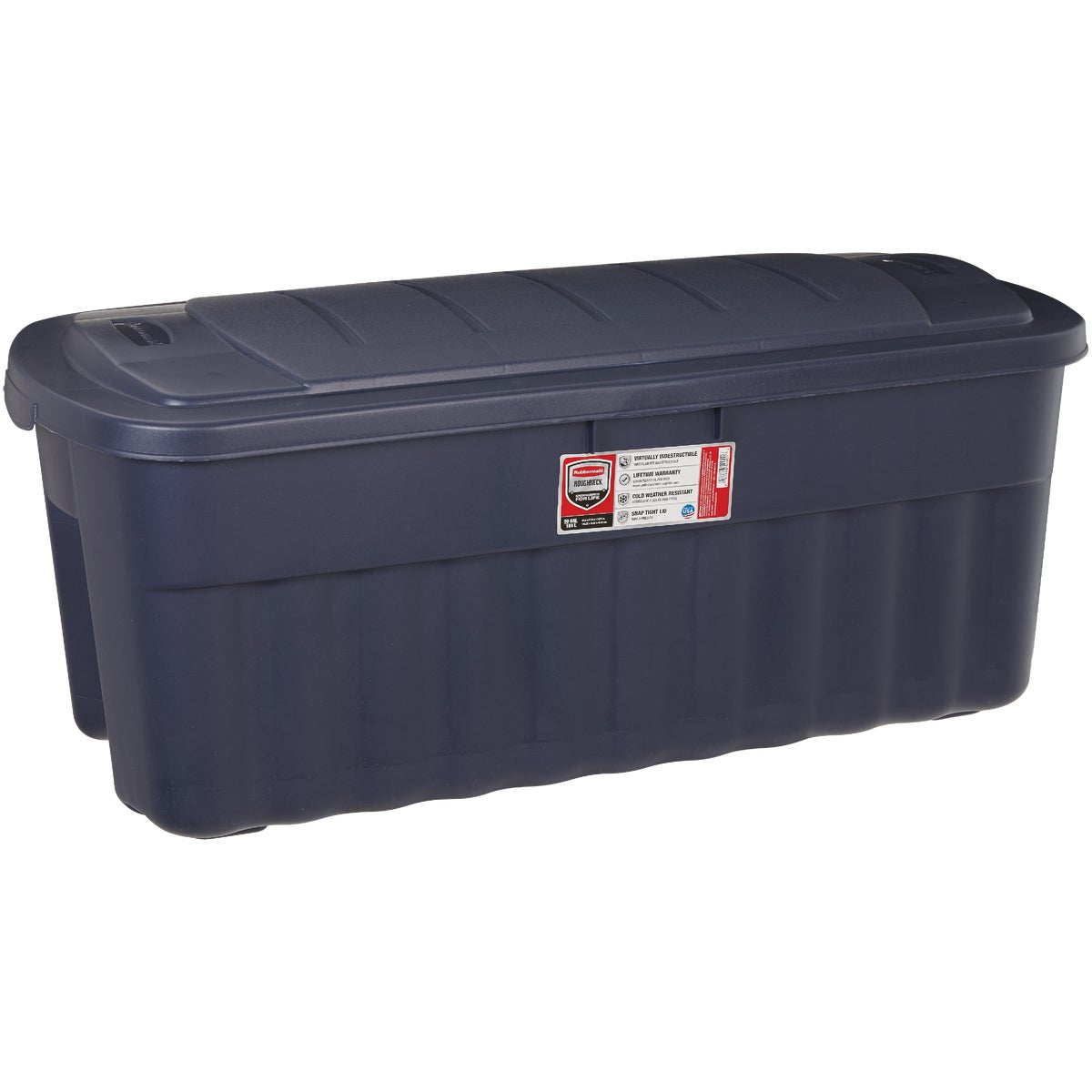 50GAL JUMBO STORAGE TOTE - 2550CPCYLND by Rubbermaid Home