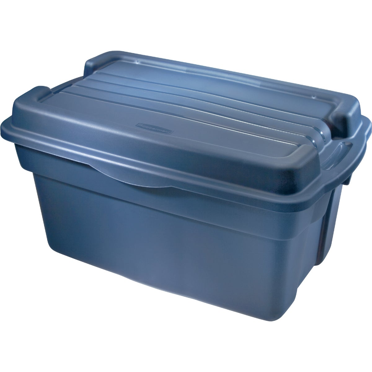 28GAL INDIGO STORAGE BOX - 246100DIM by Rubbermaid Home