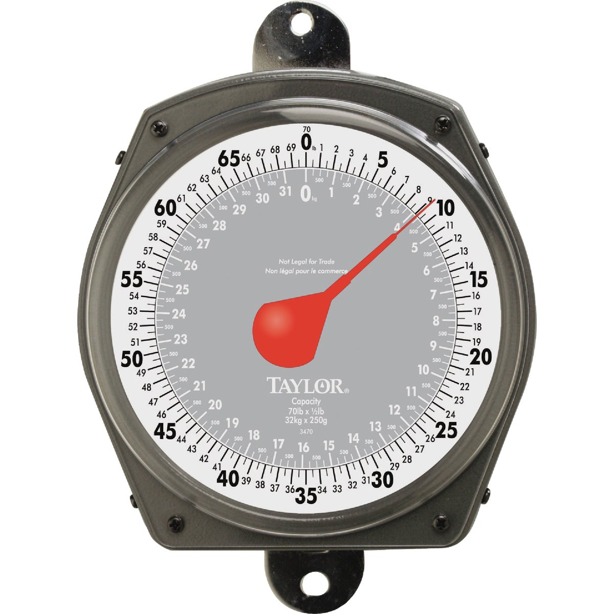 70LB DIAL HANGING SCALE - 3470 by Taylor Precision