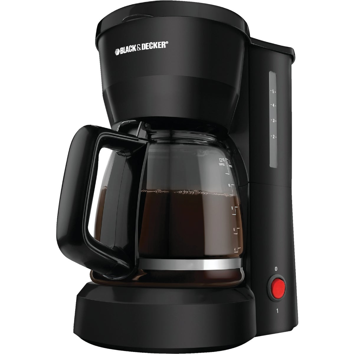 BLK 5-CUP COFFEE MAKER