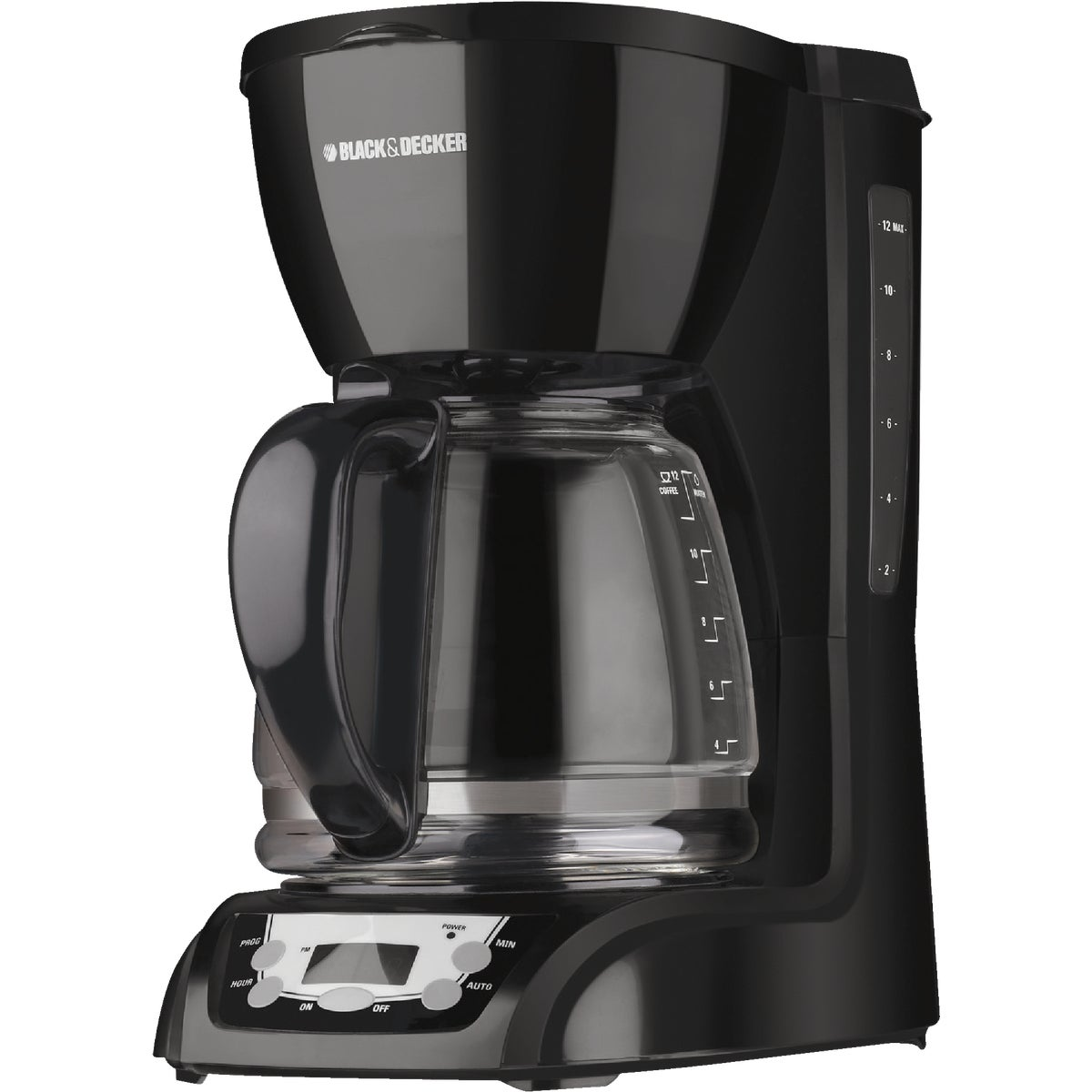 BLK 12-CUP COFFEE MAKER