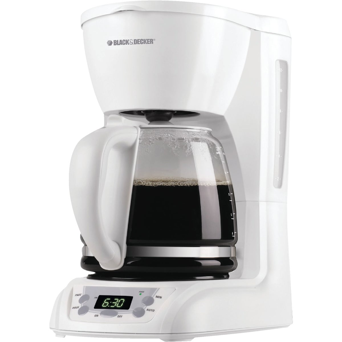WHT 12-CUP COFFEE MAKER - DLX1050W by Applia      Spectrum