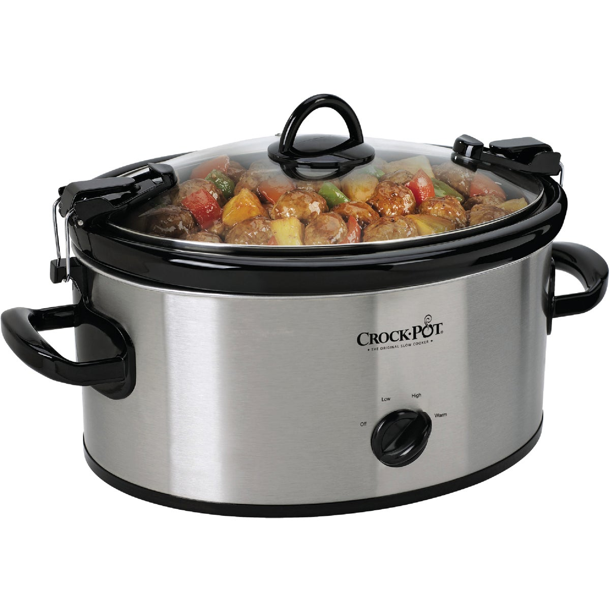SS 6QT OVAL SLOW COOKER - SCCPVL600-S by Jarden Cs