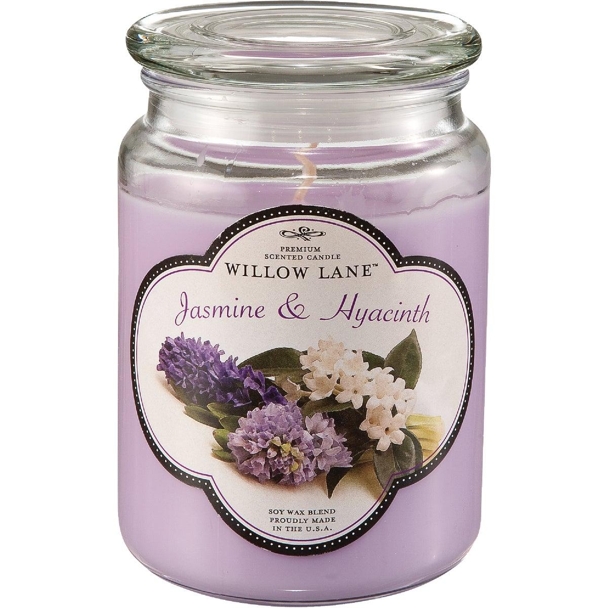 JASMIN/HYACIN JAR CANDLE - 1646622 by Candle Lite Co