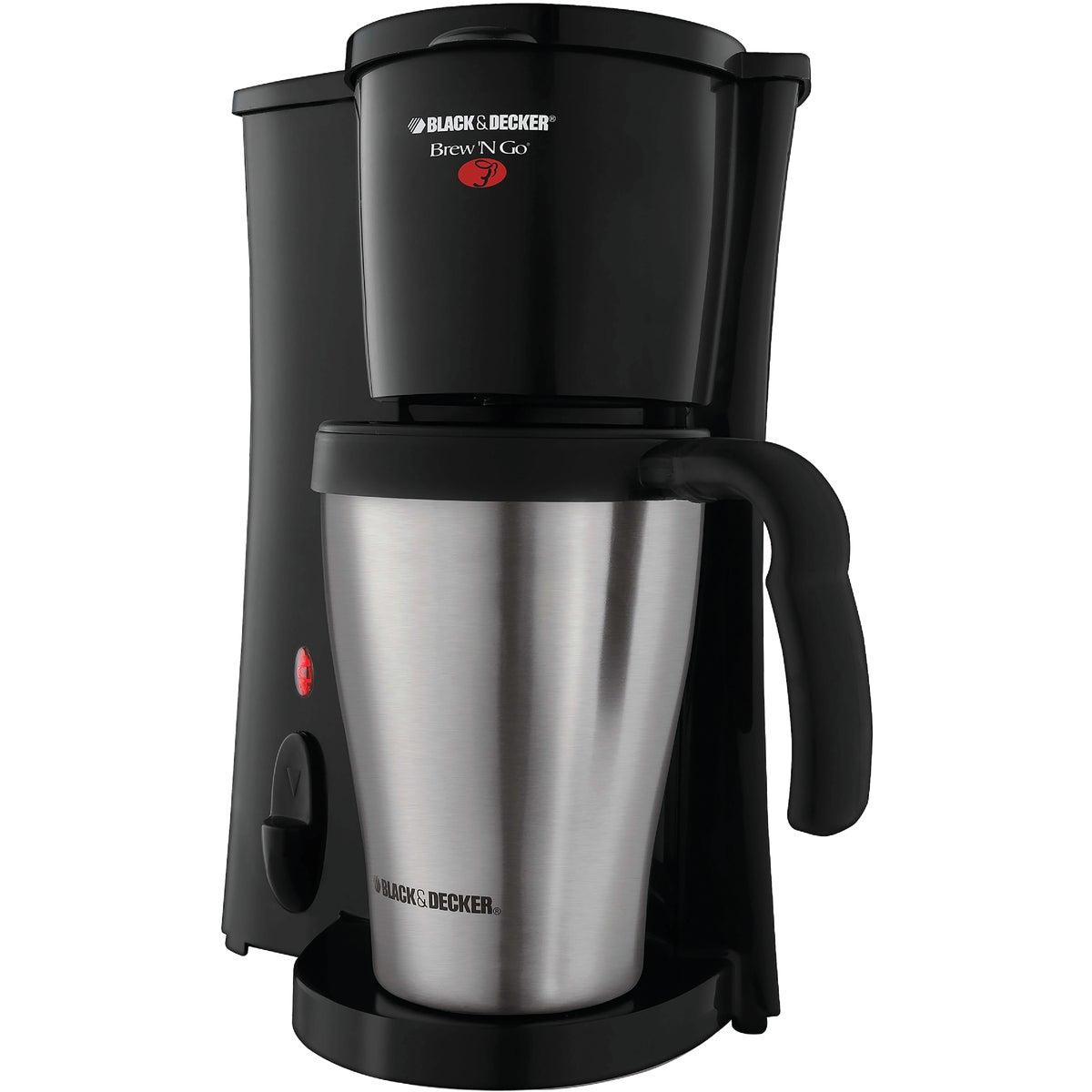 Spectrum Brands/Black & Decker Black & Decker Brew N' Go Personal Coffeemaker With Travel Mug at Sears.com