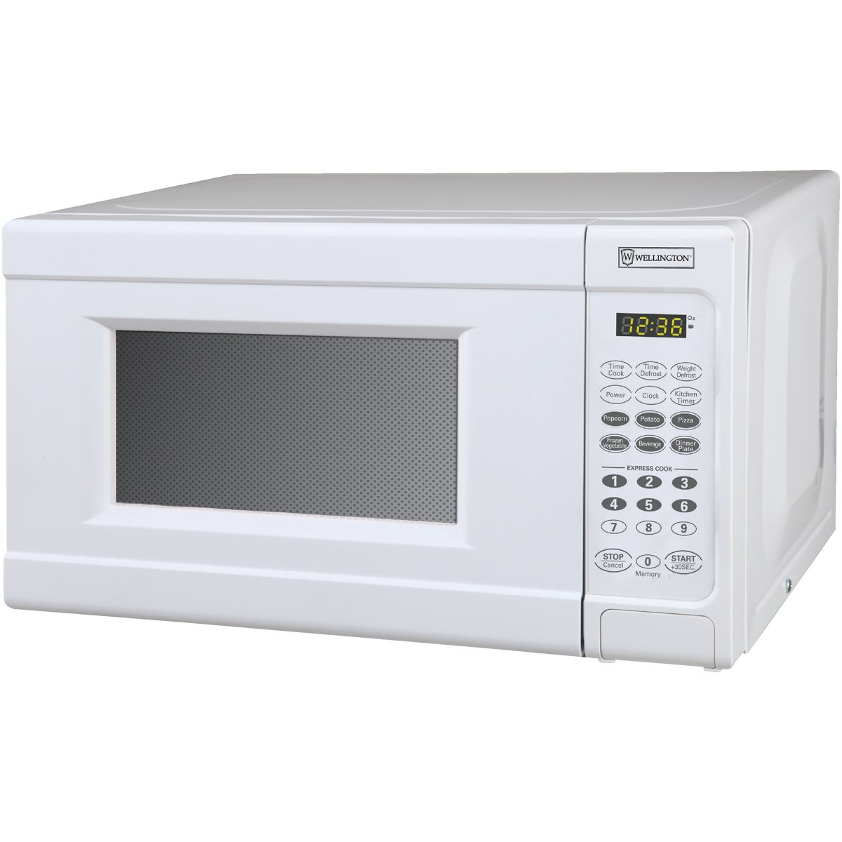 WHITE 0.7CUFT MICROWAVE