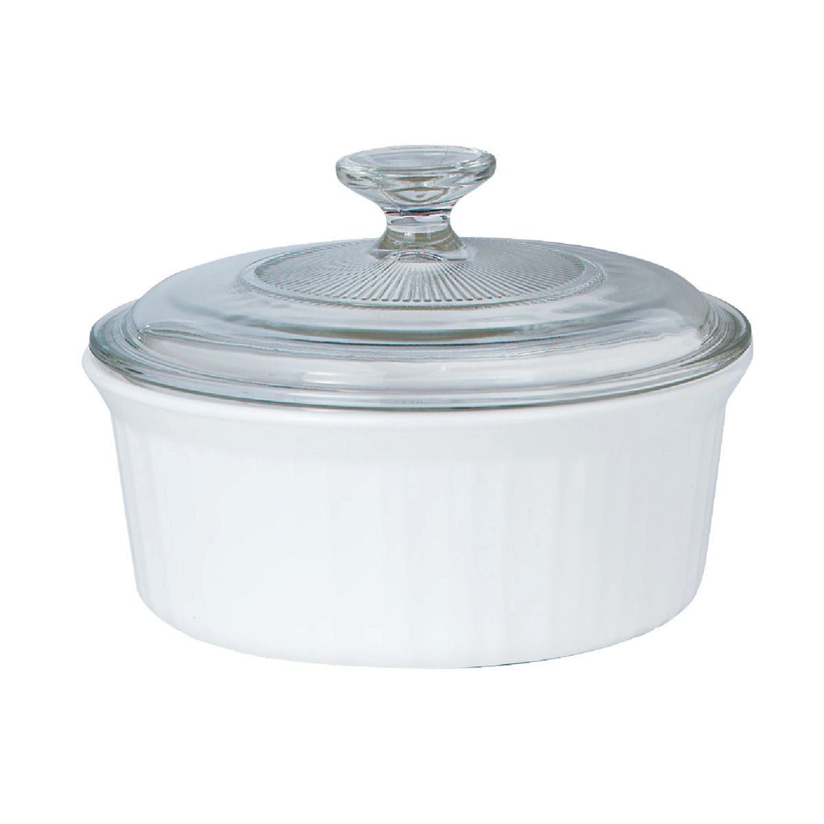 ROUND COVERED CASSEROLE - 1105932 by World Kitchen  Ekco