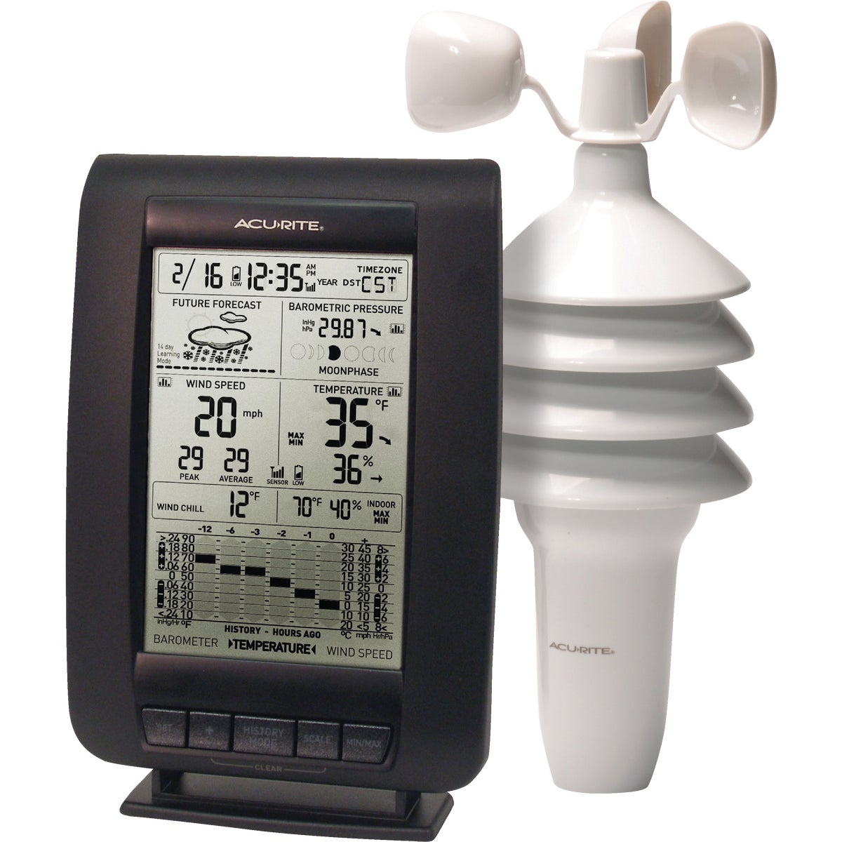 WIND WEATHER CENTER - 00634A2 by Chaney Instrument Co
