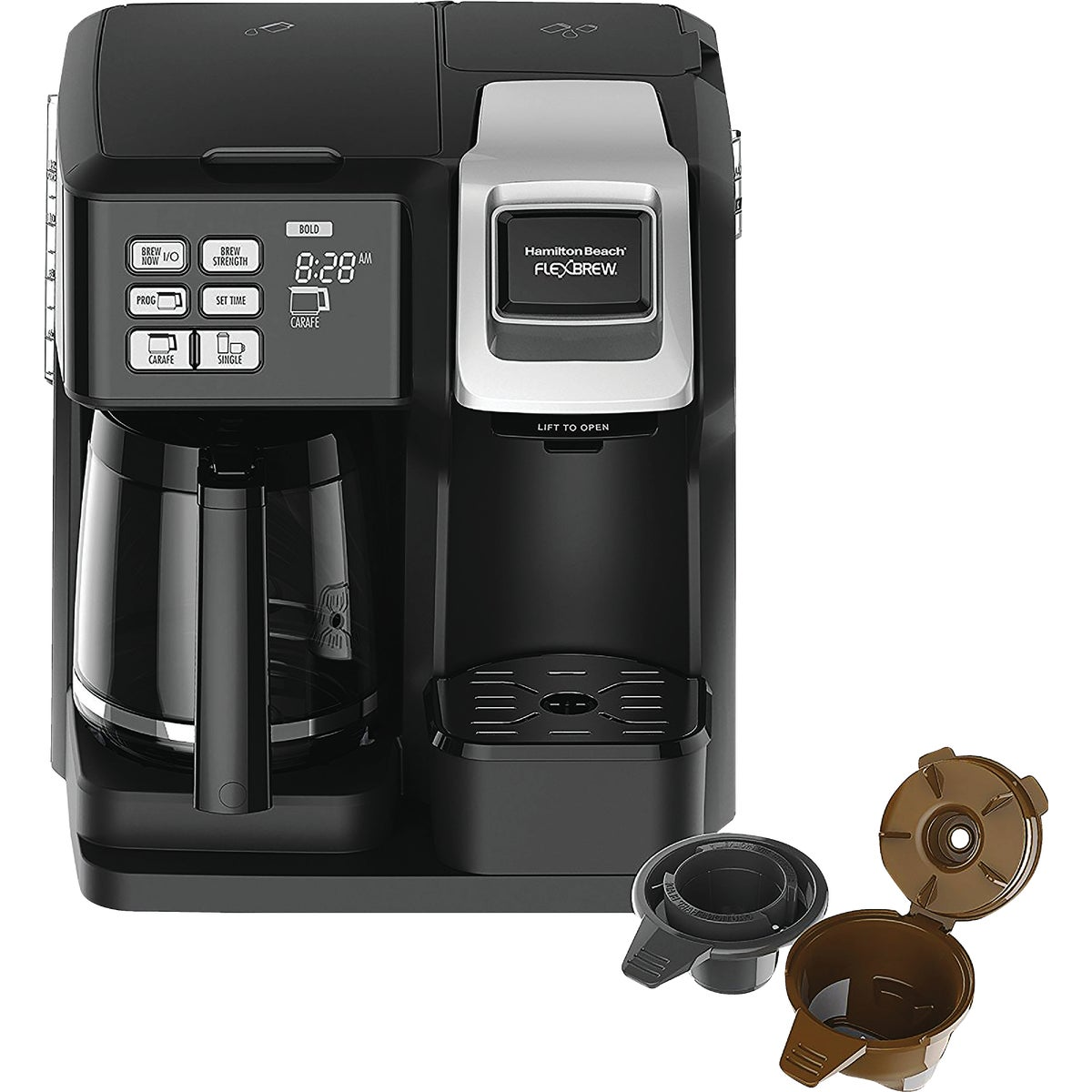 2 WAY  DELUXE BREWER - 49983 by Hamilton Beach Brand