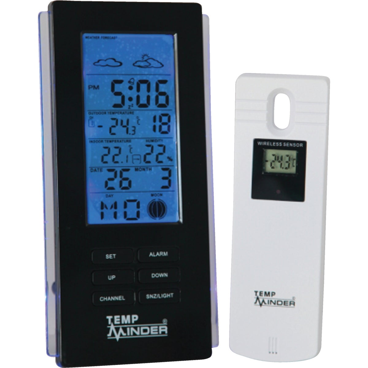 WIRELESS WEATHER CENTER - MRI-211MX by Minder Research