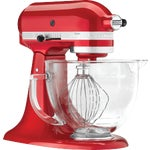 KitchenAid Artisan Series Stand Mixer With Glass Bowl