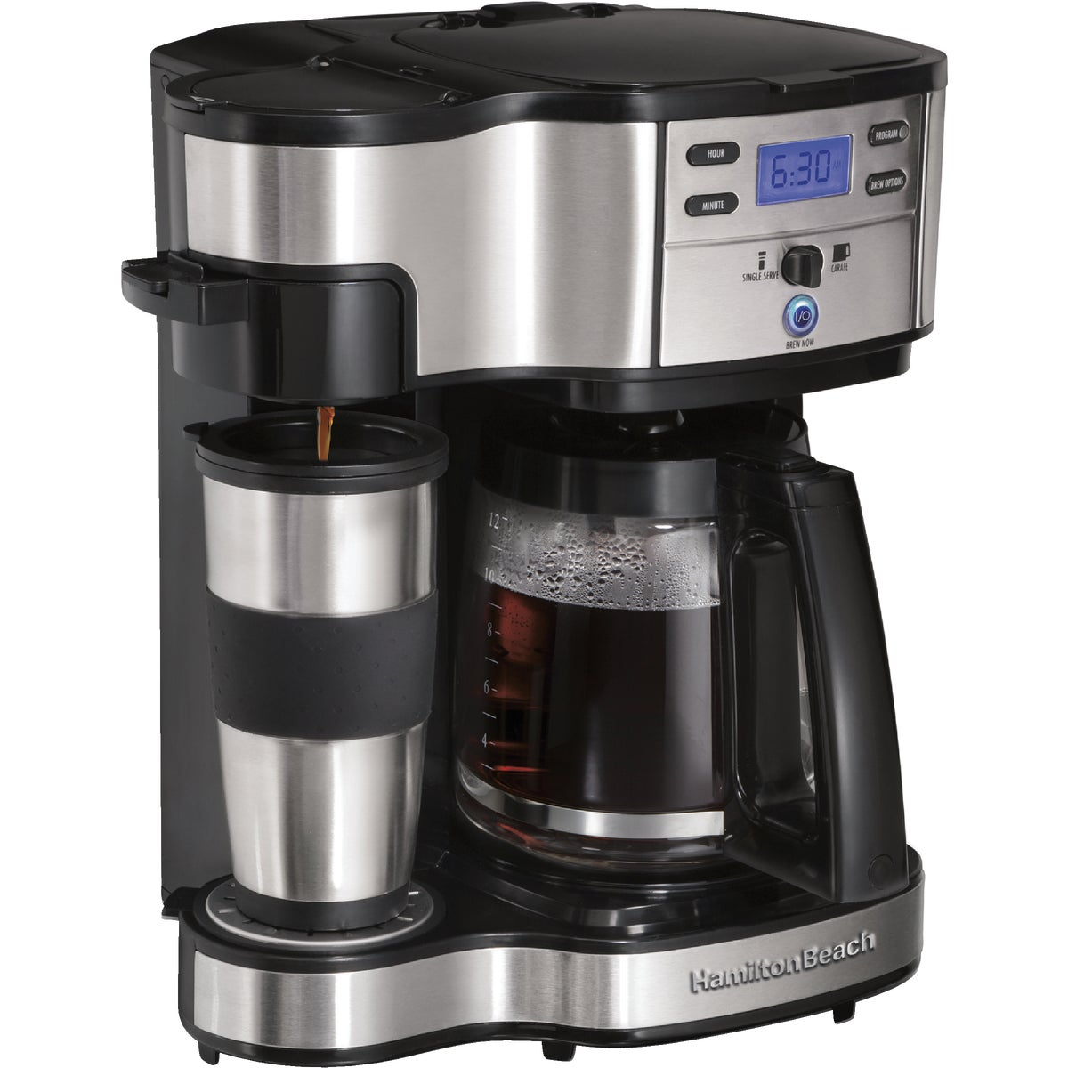 2 WAY BREWER - 49980Z by Hamilton Beach Brand
