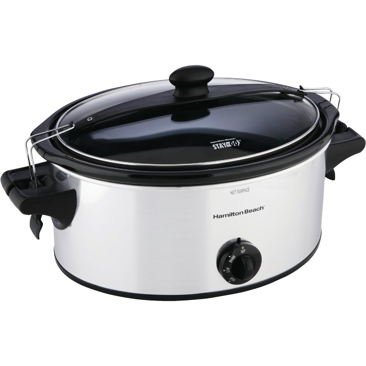6 QT  SS SLOW COOKER - 33262 by Hamilton Beach Brand