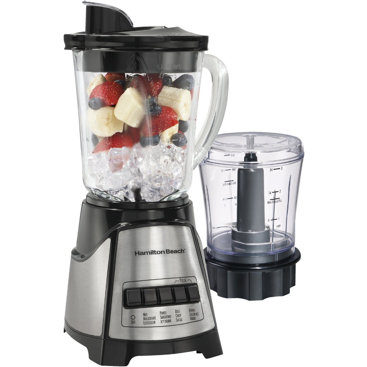 12 FUNCTION BLENDER GL - 58149 by Hamilton Beach Brand