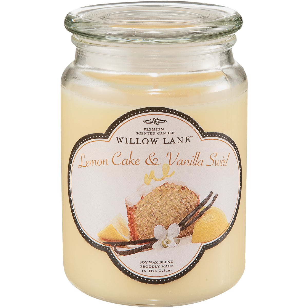 LEMONCAKE/VAN JAR CANDLE