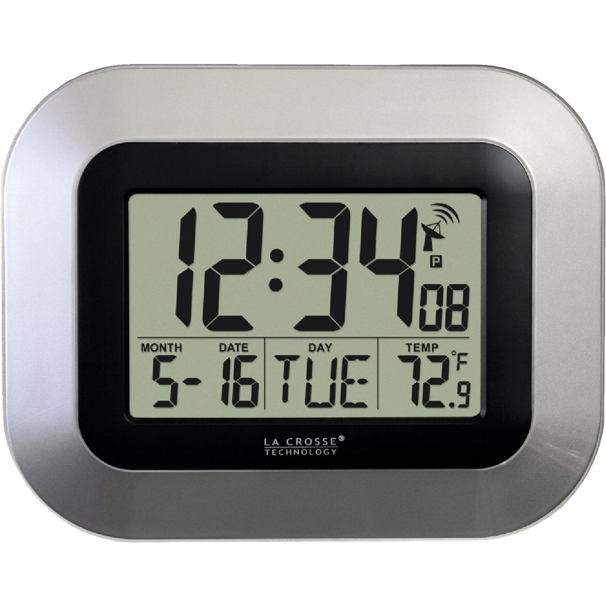 DIGITAL ATOMIC CLOCK - WT-8005U-S by Lacrosse Technology