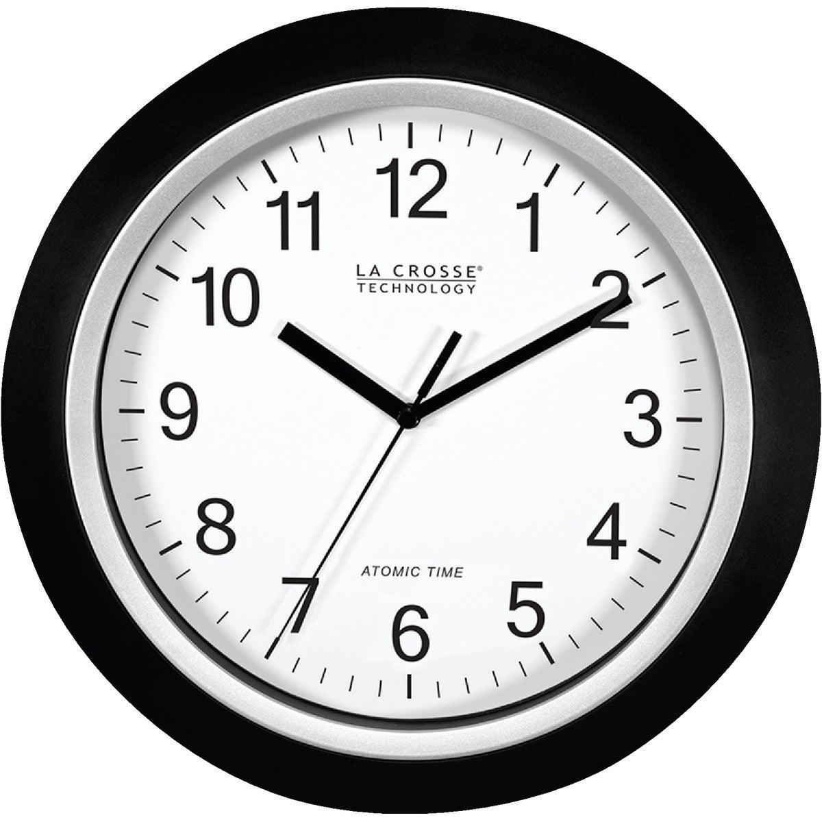 "12"" ATOMIC WALL CLOCK - WT-3129B by Lacrosse Technology"