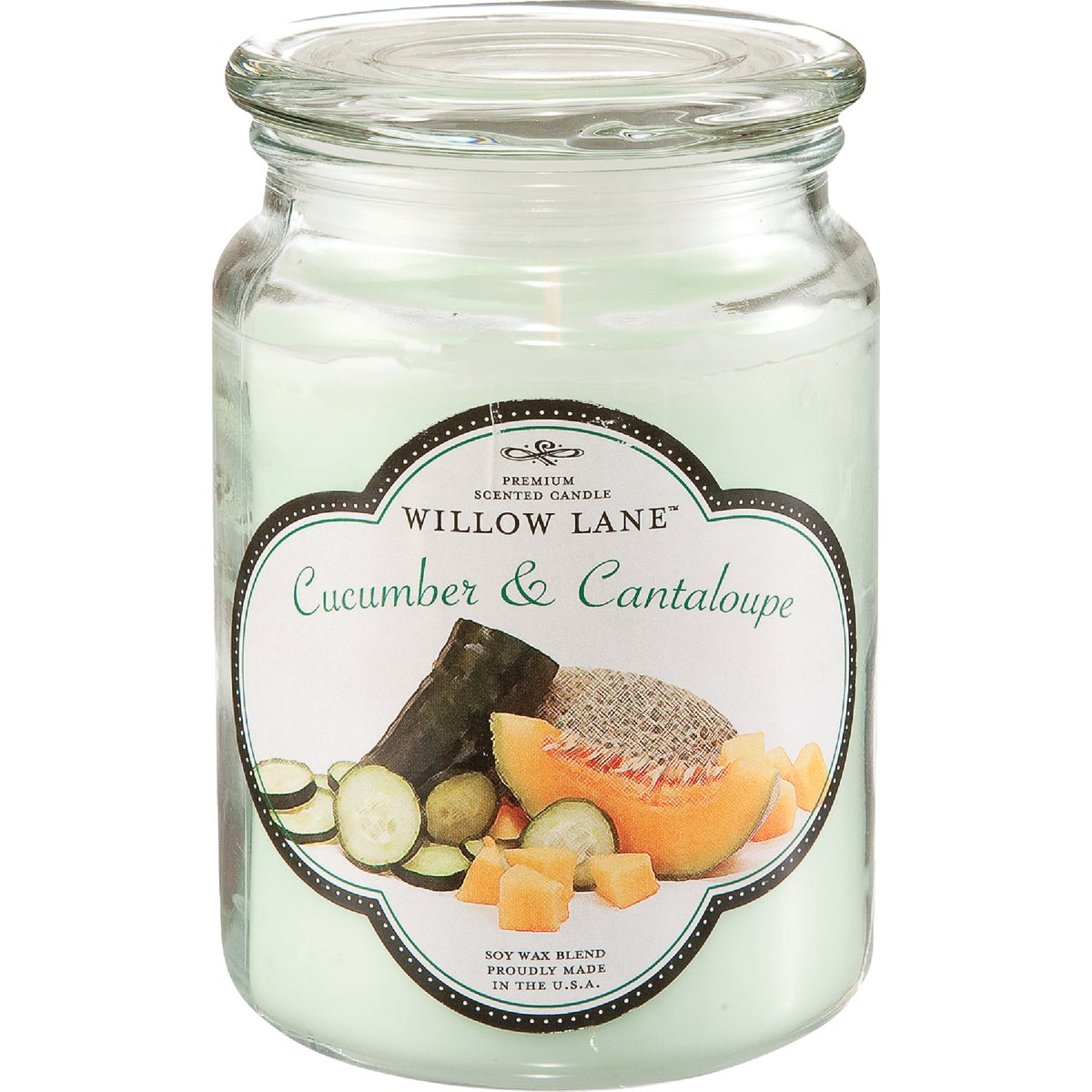 CUCMBR/CANTLP JAR CANDLE - 1646038 by Candle Lite Co