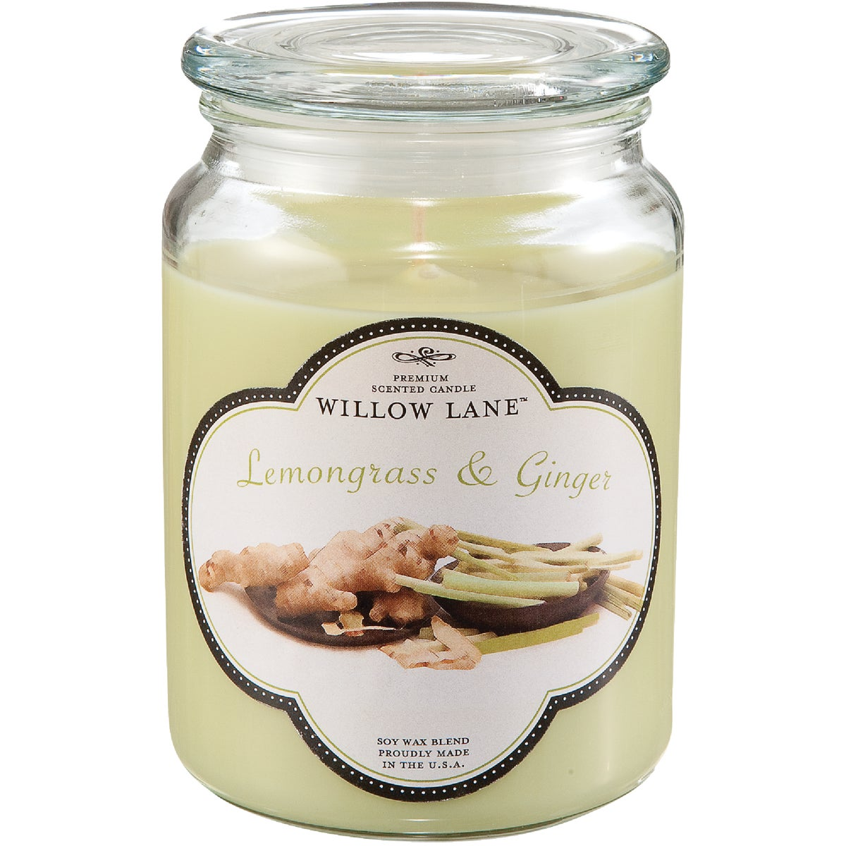 LEMONGRASS JAR CANDLE - 1646043 by Candle Lite Co