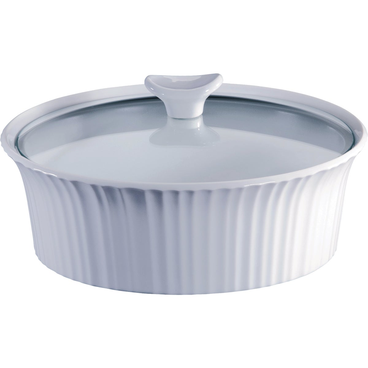 ROUND COVERED CASSEROLE - 1105930 by World Kitchen  Ekco