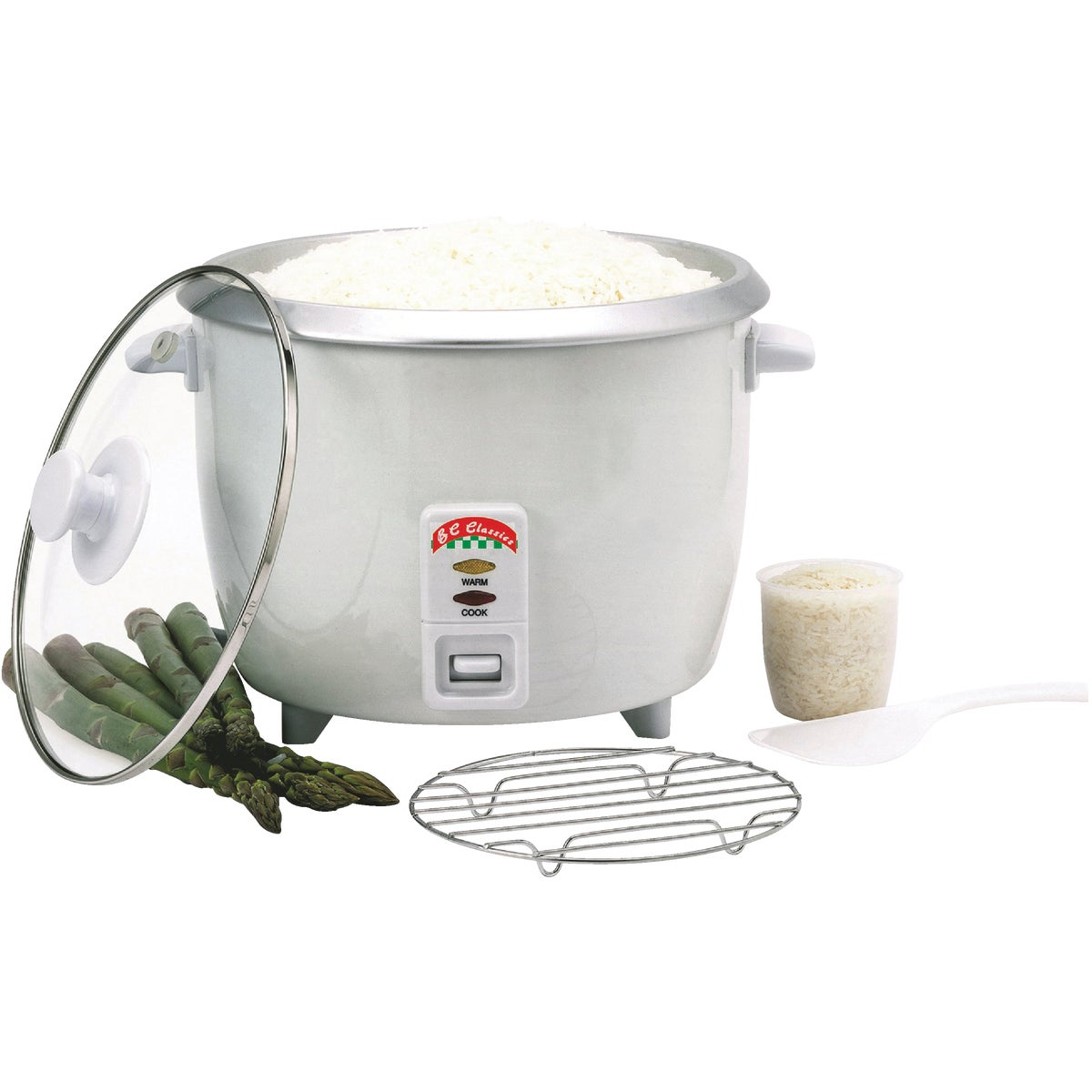 10 CUP RICE COOKER - BC-12418 by MBR Industries