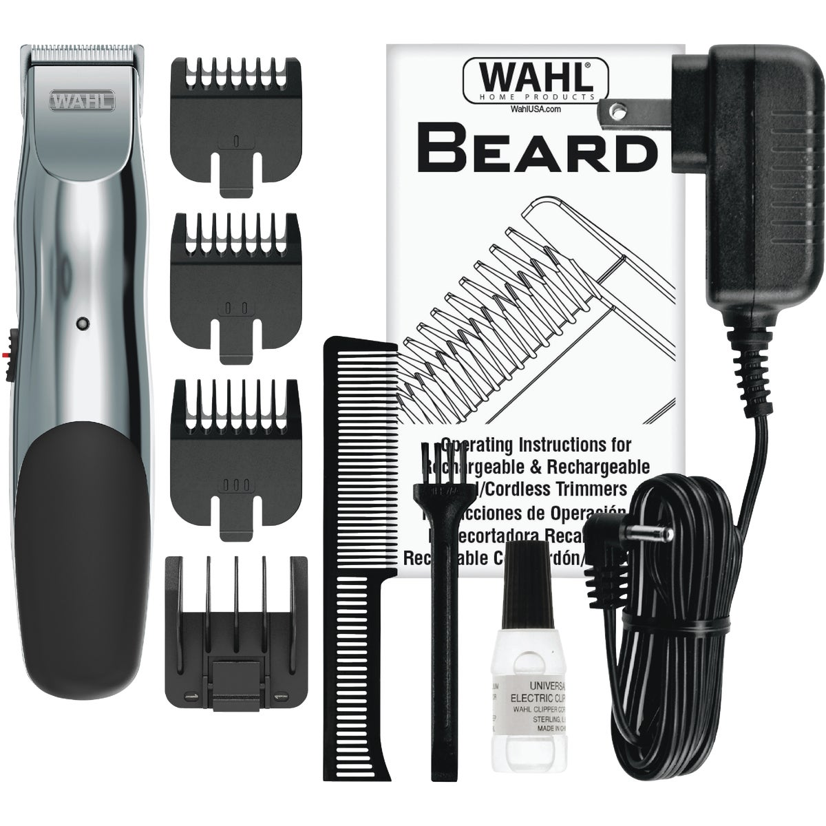 RECHARGBL BEARD TRIMMER - 9916-817 by Wahl Clipper Corp